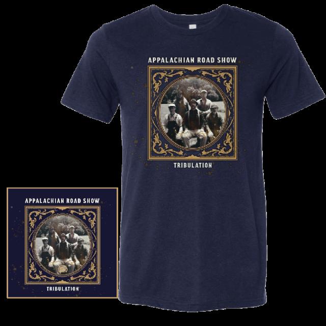 Appalachian Road Show Tee PLUS CD Bundle